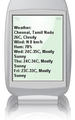 Google-weather-chennai