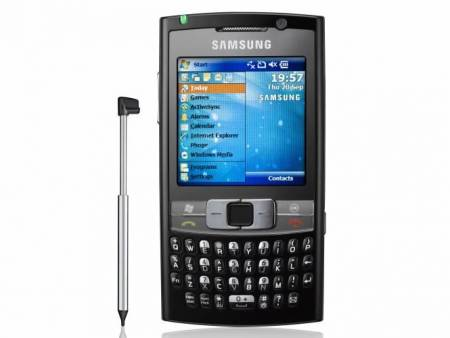 samsung sgh i780 windows mobile with tv out and optical mouse rh fonearena com Samsung Armani Samsung D900
