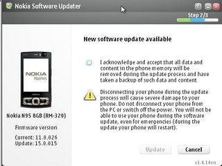 Nokia n95 8gb v15 firmware