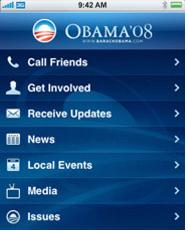 Barack Obama's Official iPhone & iPod Application