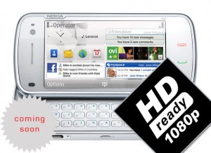 Nokia DVd Quality Video Recording