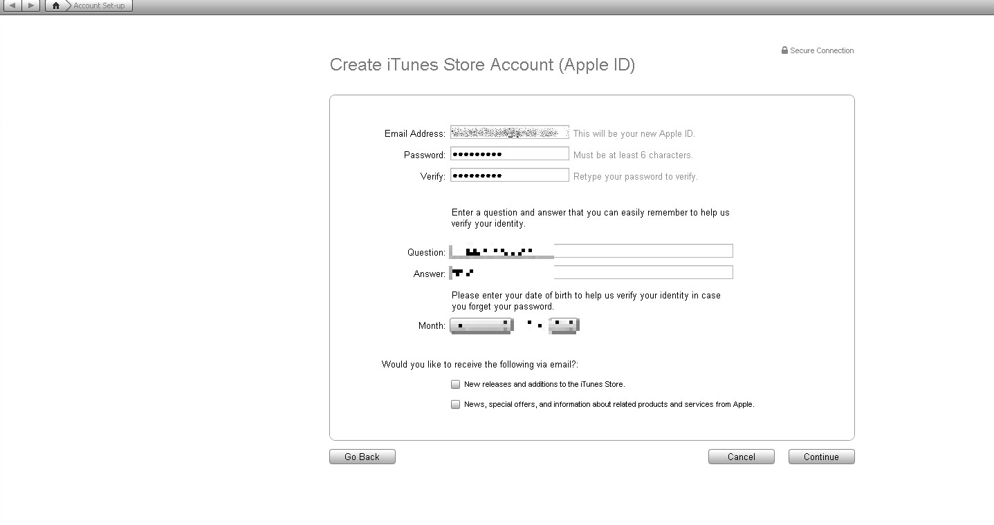 How To : Get an Apple iTunes USA Account for free and download items