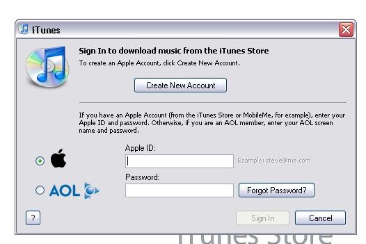 how to make apple store account