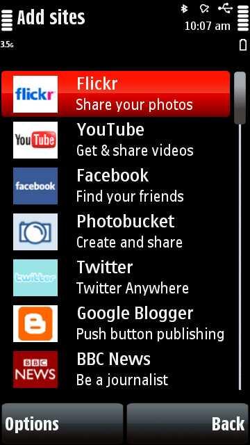 Face Book For Nokia 5800