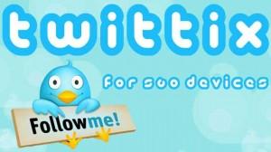 twittix home screen