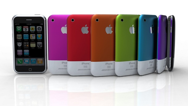 After the Apple iPod Nano Chromatic which came in lots of colour and made