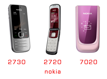 nokia announces 2730 classic 2720 fold and 7020 lowcost phones. Black Bedroom Furniture Sets. Home Design Ideas