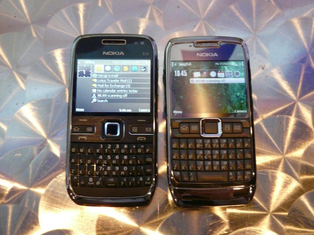 Nokia X3 VS Nokia E72