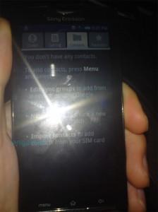 Xperia X3 Live Pics 1