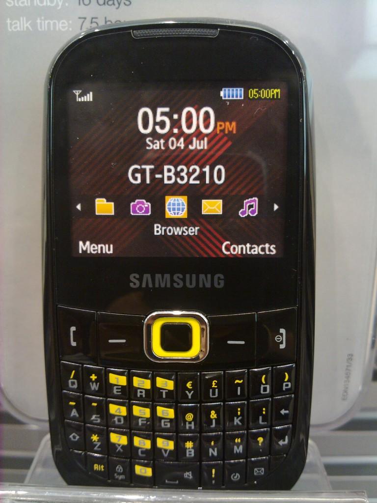 Samsung genio touch corbyTXT