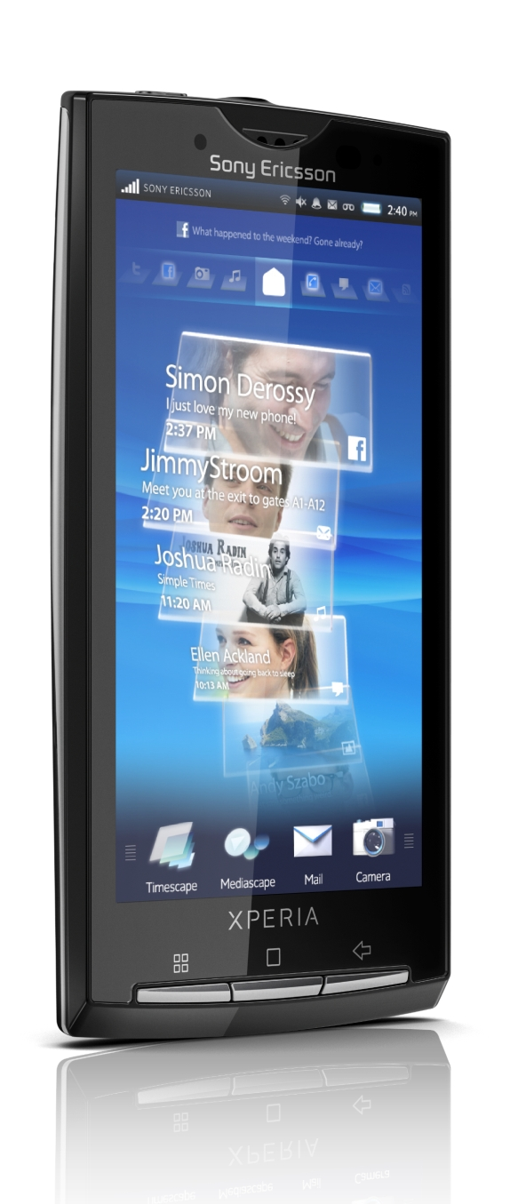 Sony Ericsson Xperia X10 is Official – First Android Phone ...