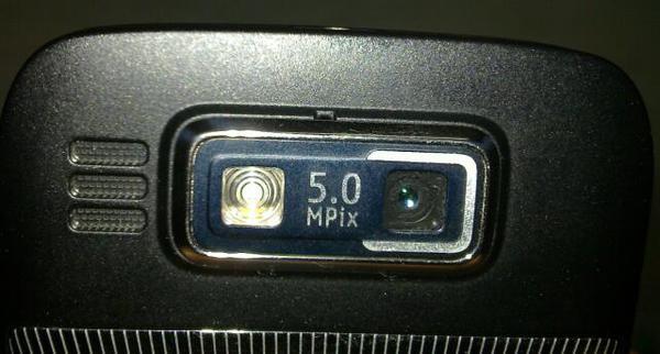 E72 camera lens