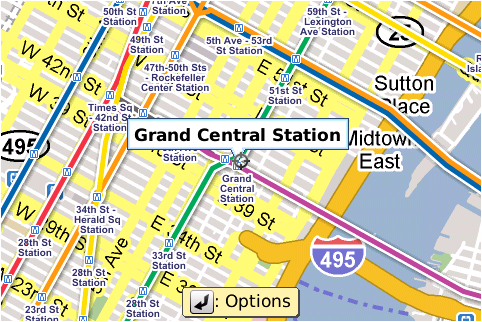 Ny Subway Map Google.Google Maps Adds New York Subway Layer