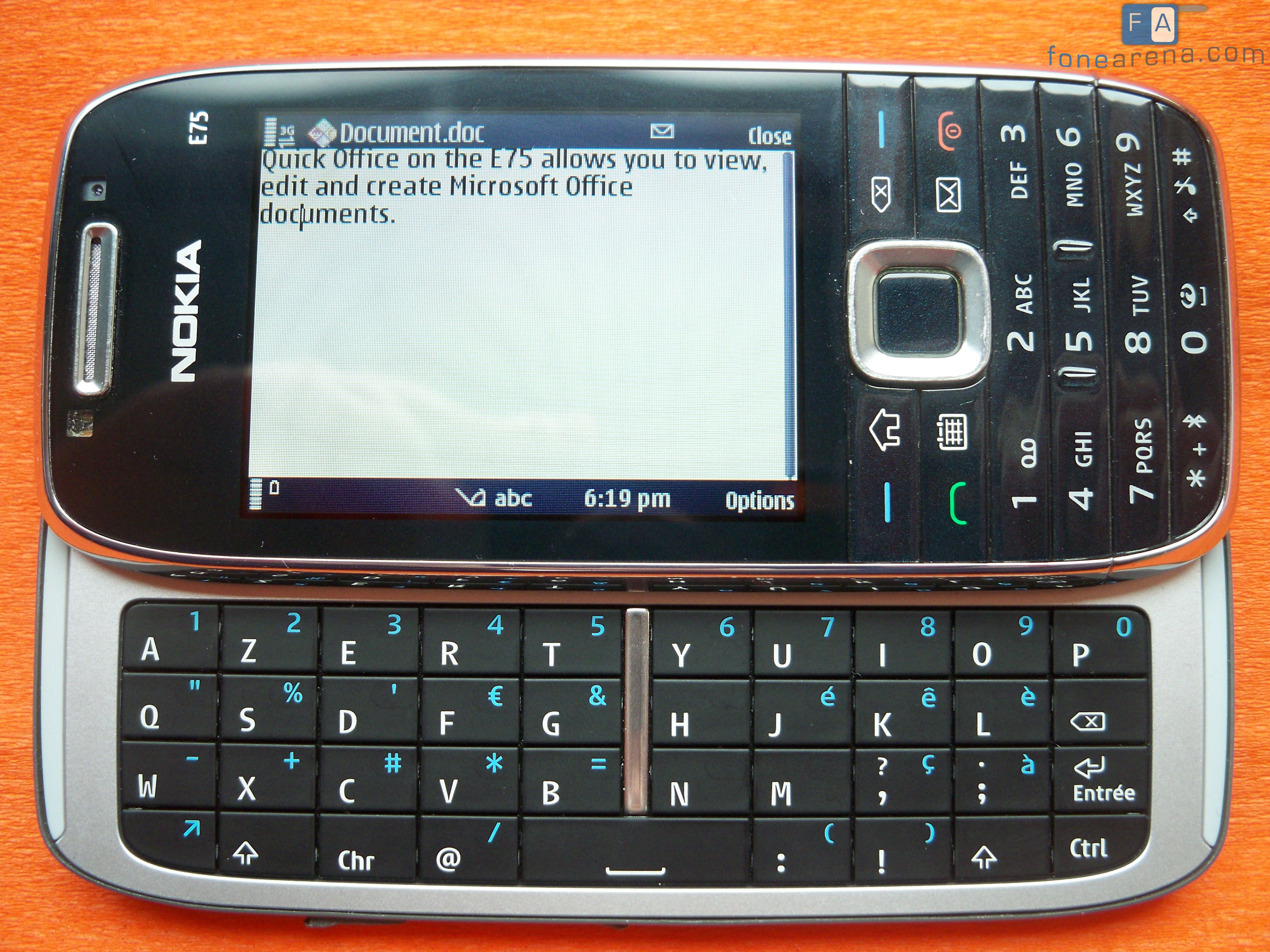 The Nokia E75 In All Its Glory