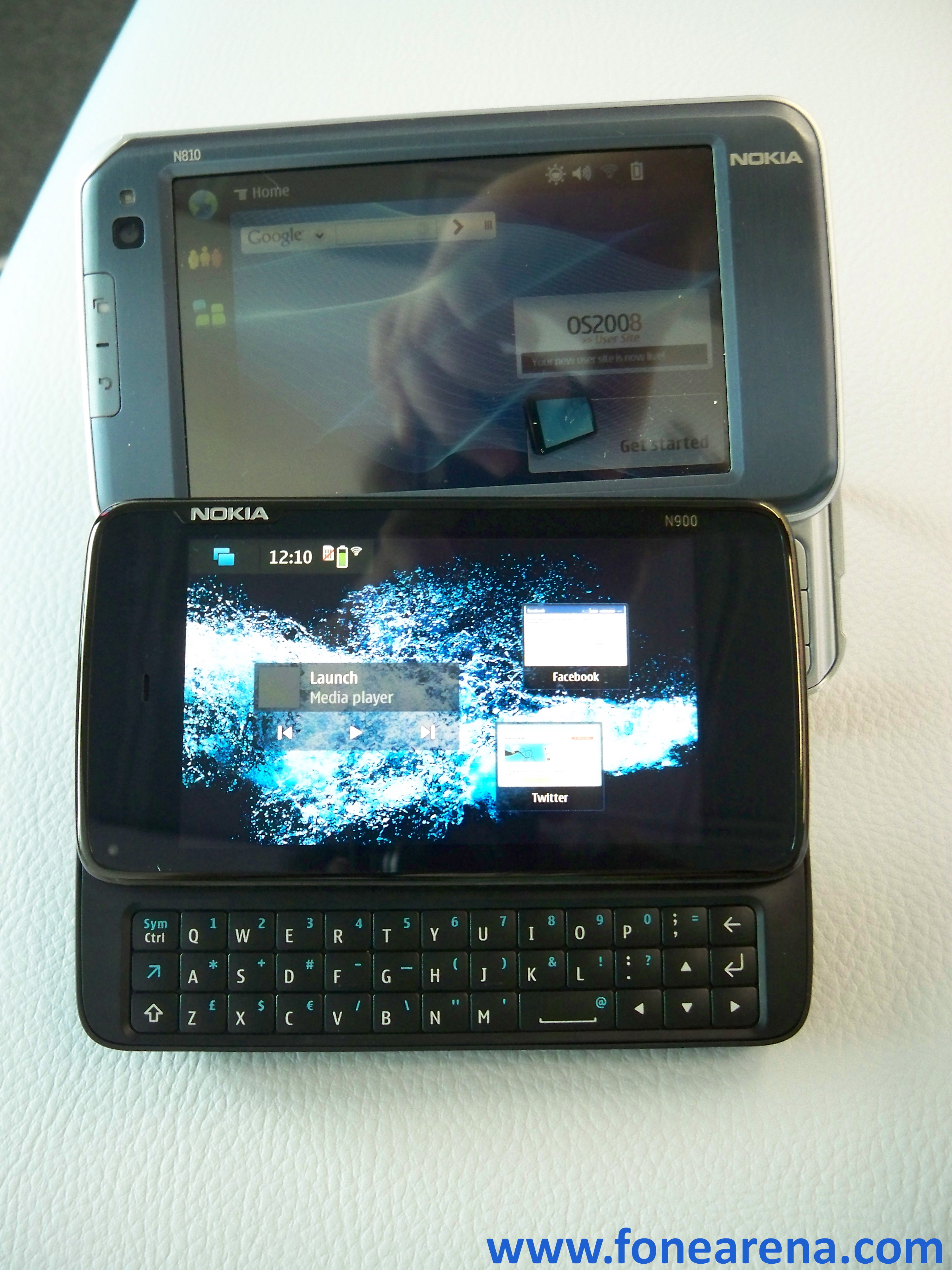 Nokia N900 Photo Gallery And N810 Comparison