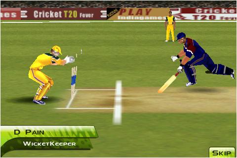 Screens Zimmer 6 angezeig: cricket games 2010