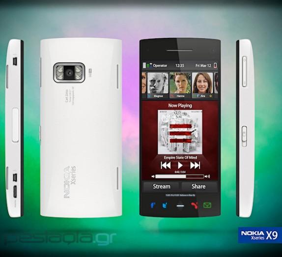 nokia x9 concept 01 Nokia X9 Specs [Symbian^4, 1GHz CPU & 12MP camera]