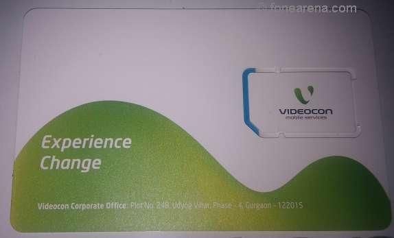 videocon sim card
