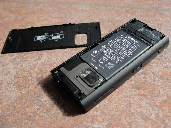 Nokia X6 opened