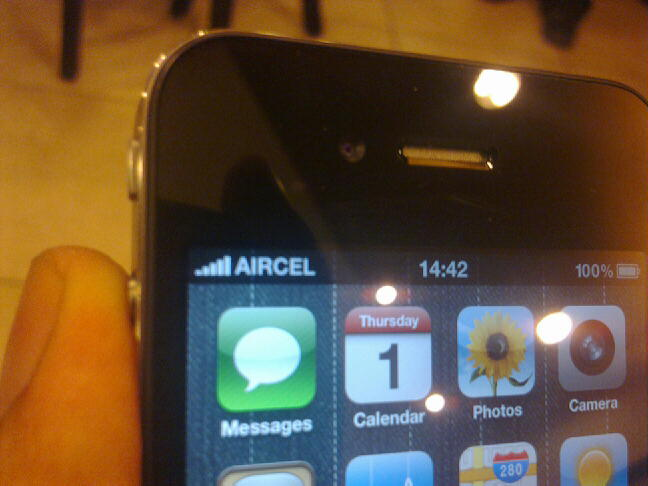 aircel iphone4