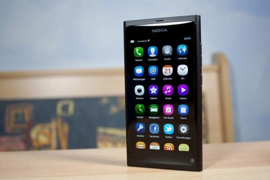 Nokia N9 front