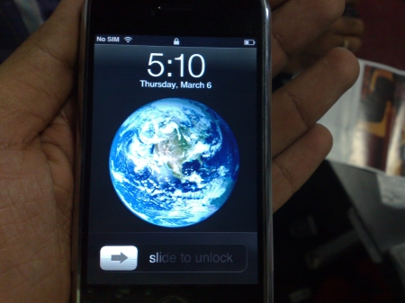 Iphone screensaver