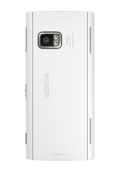 Nokia X6 Blue And White